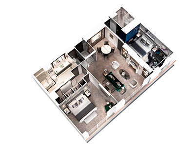 Cystal-Mozart-One-Bedroom-Penthouse-Balcony4