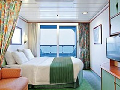 RCI Navigator of the Seas - Spacious Ocean View with Balcony