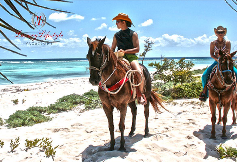 Puerto Morelos – Horseback Riding and Cenote Swim