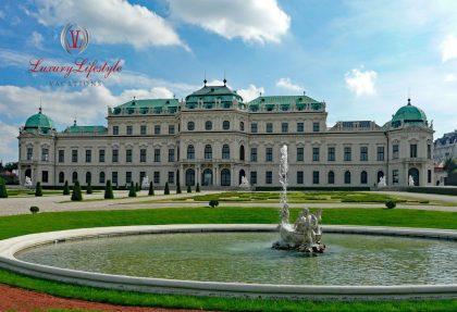 Vienna – Schönbrunn Palace Evening