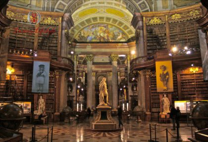 Vienna – State Hall of Austrian National Library
