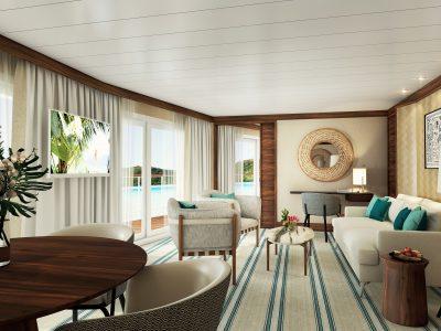 Tiare Suite Living Room