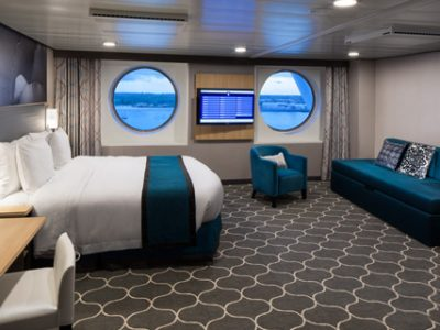 Ultra-Spacious Oceanview Stateroom