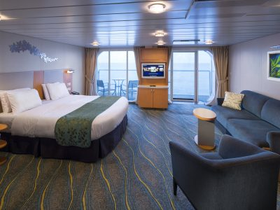 Ultra-Spacious Oceanview Stateroom with Large Balcony