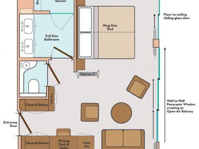 royal suite 2 map